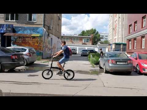 Складной велосипед в городе. Впечатления после месяца катания.