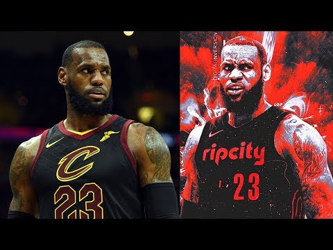 LeBron James Joining Trail Blazers? Blazers Fans Raising Money For LeBron James Billboard