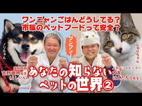 【吉野敏明先生&大友けんたろう先生】ペットの健康の話!ペットフードの真実やワクチンまで