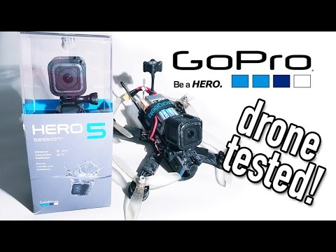 GoPro Hero5 Session on a Race Drone!