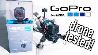 Gopro Hero5 Session On A Race Drone Youtube
