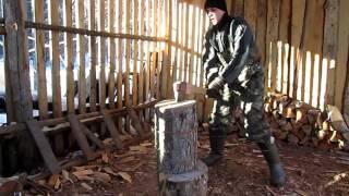 Удобная колка дров
