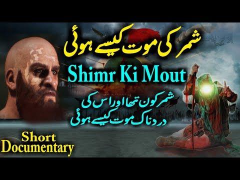 Shimr Ki Mout | Karbala Waqia Shimr Death History And Role In Karbala Imam Hussain Shahadat