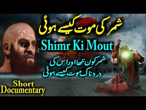 Shimr Ki Mout   Karbala Waqia Shimr Death History And Role In Karbala Imam Hussain Shahadat thumbnail