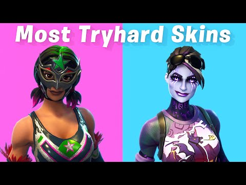 Top 10 Most Tryhard Skins In Fortnite (sweaty Skins)
