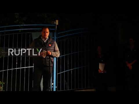 Hungary: Protesters march in Budapest against Ukrainian lang