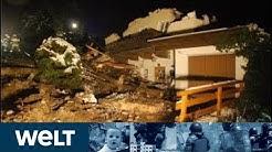 HEFTIGE UNWETTER: Österreich und Italien leiden unter Schneemassen und  Hochwasser