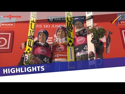Kamil Stoch grabs impressive victory in Trondheim Large Hil | Highlights