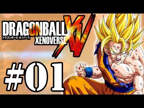 Let's Play: Dragon Ball Xenoverse - Parte 1 - A Patrulha do Tempo
