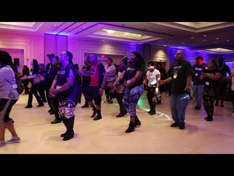Unchained Line Dance at UC Awards 2018