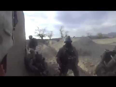 US Marine Gets Shot in Head by Taliban Sniper: Kevlar Helmet Saves him, Survives Headshot Bullet