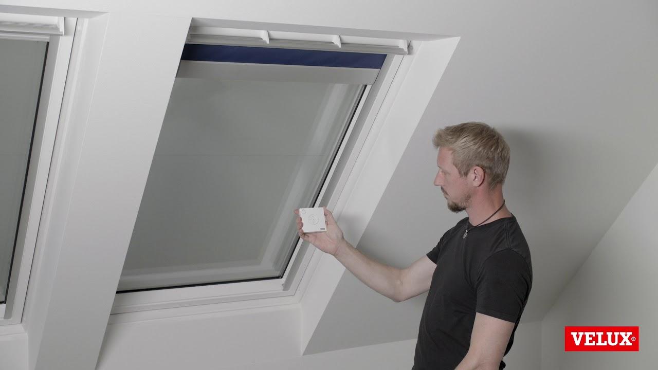 Velux Solar Blind Calibration You