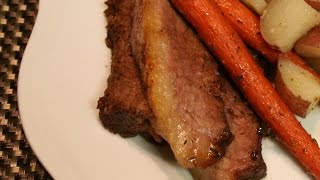 Slow Cooked Oven Roasted Beef Brisket Recipe with Marinade