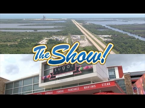 Attractions - The Show - NASA rocket launch; Sugar Factory; latest news - April 14, 2016