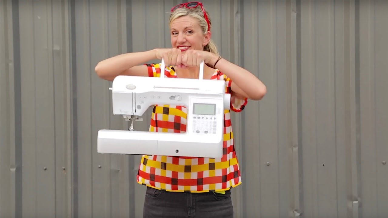 Learn how to sew! Easy for beginners. Learn how to use a sewing machine.