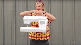 How to use a Sewing Machine + How to Sew (everything you need to know)