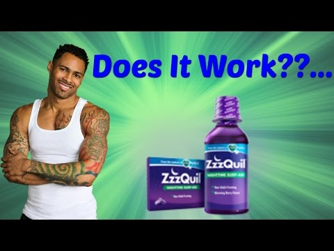 New ZzzQuil Review! Does This Sleep Aid Work Or Not??...