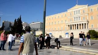 ギリシャの国会議事堂