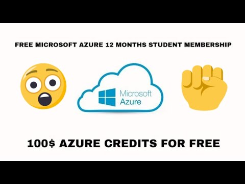 How To Get Microsoft Azure Student Membership For 12 Months Without Credit Card|Free 100$ Credits