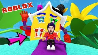 Roblox: EXPERIENCE FROM CRAZY HOUSE! KAAN CAUGHT IN CRAZY HOUSE! Escape Obby English