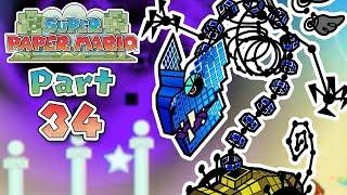 Super Paper Mario: Part 34 - A Bone-Chilling Tale!