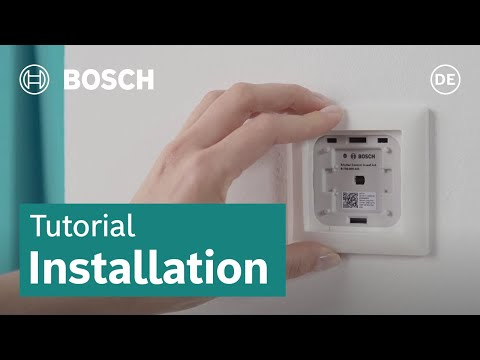 How to install the Electric Shutter Control I Bosch Smart Home [DE]