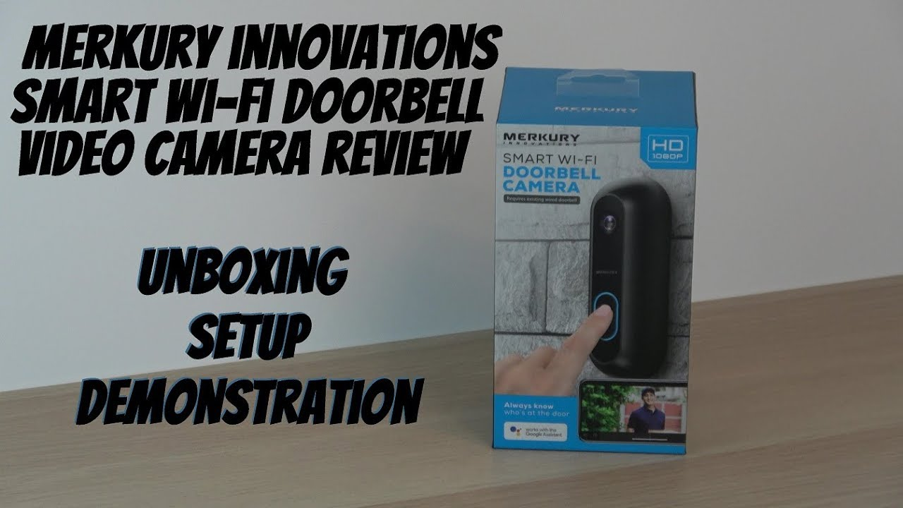 Merkury Innovations Video Doorbell Review- Walmart's $80 Video Doorbell  Camera