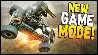Crossout - 14 KILLS!  AMAZING NEW GAME MODE! Big Black Scorpions Update - Crossout Gameplay