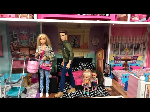 Barbie Takes Haley and Ally to the Doctor!!
