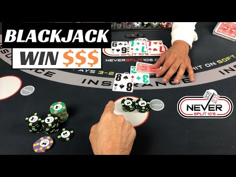 From $300 To Thousands - Amazing Blackjack Winning Session