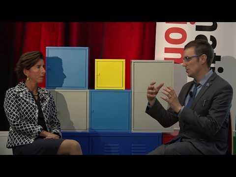 RI Governor Gina Raimondo - Information Governance Conference 2017 Keynote