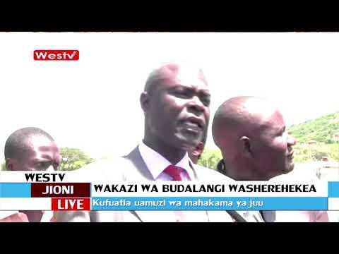 Wakaazi wa Budalangi wameiomba serikali kumalizia miradi ilianzisha