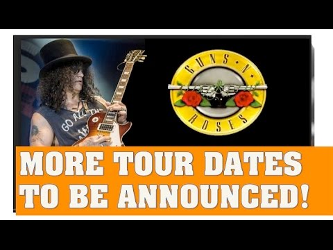 Guns N' Roses Reunion News:  South America, Australia, Japan & Europe Tour Dates Coming!
