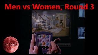 Men vs Women, Round 3: Investigation and Punishment...plus Night Trap (Game Spoilers)