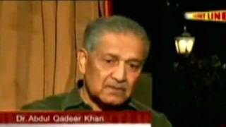 the latest interview by dr aq khan about nuclear bomb must watch jan 2012