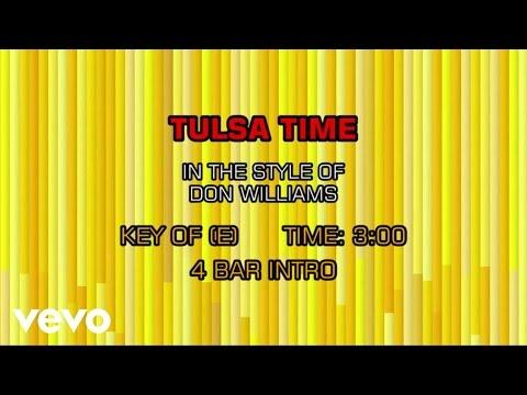 Don Williams - Tulsa Time (Karaoke)