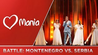 ESC BATTLE: Montenegro 🇲🇪 vs. Serbia 🇷🇸 (2009-2018) // Battle // ESC Mania