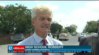 Edenvale High school principal talks