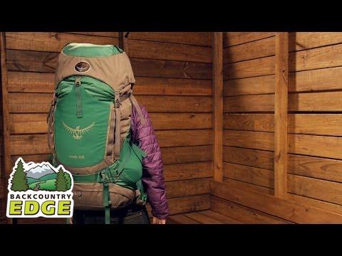 6a1cfad802a3 Osprey Viva 65 Women s Backpack - YouTube