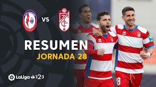 Resumen de CF Rayo Majadahonda vs Granada CF (0-3)