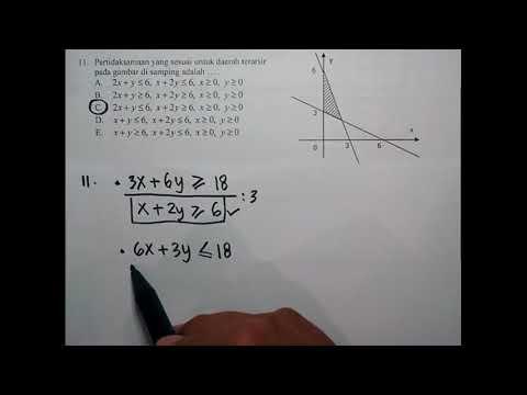 Pembahasan Latihan Soal UN 2018 Matematika SMK