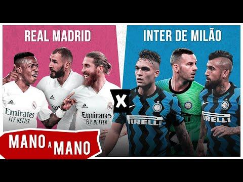REAL MADRID 2020 X INTER DE MILÃO 2020 - MANO A MANO