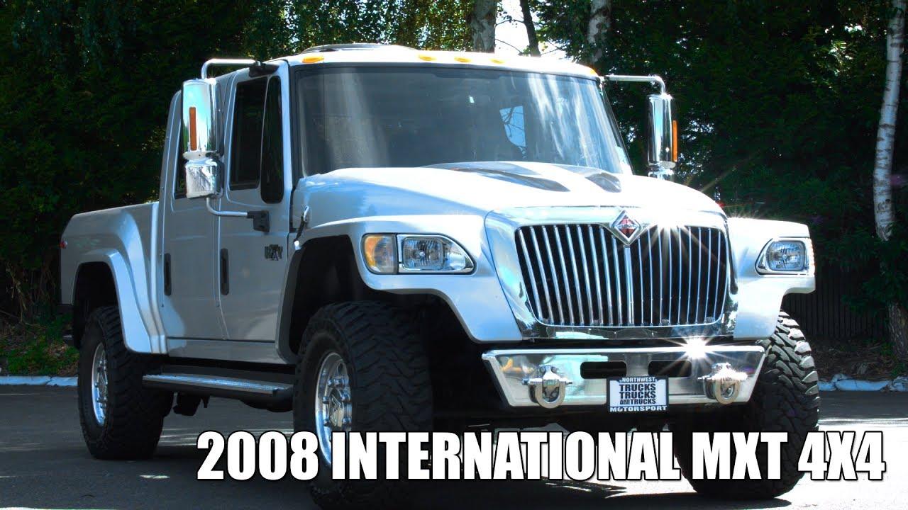 2008 International MXT 4x4