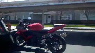 Painful Yamaha R6 Repo With Unexpected Help - 05/23/2011