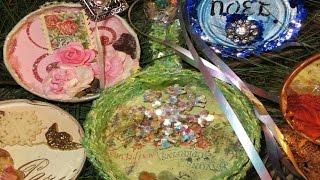 Como decorar tampas de vidros com motivos natalinos