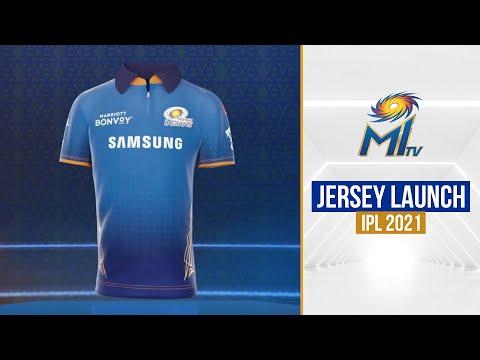 Mumbai Indians Jersey Launch | हमारी नई जर्सी | IPL 2021