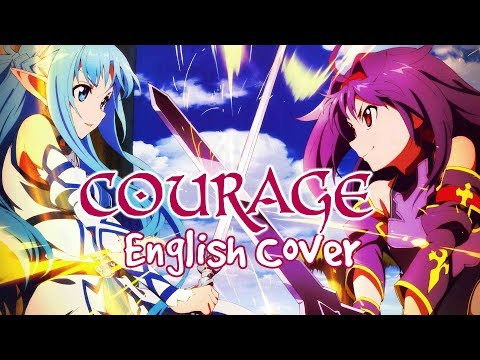 Sword Art Online II - Courage - English Cover