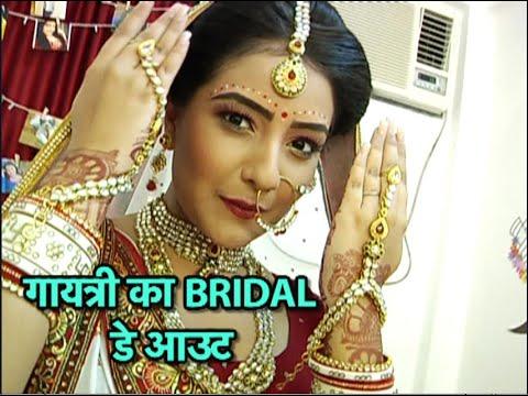Bridal Dayout With Akshita Mudgal aka Gayatri Of Bhakarwadi!
