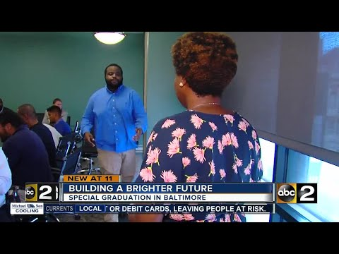 Special graduation for Baltimore residents desiring to build a brighter future