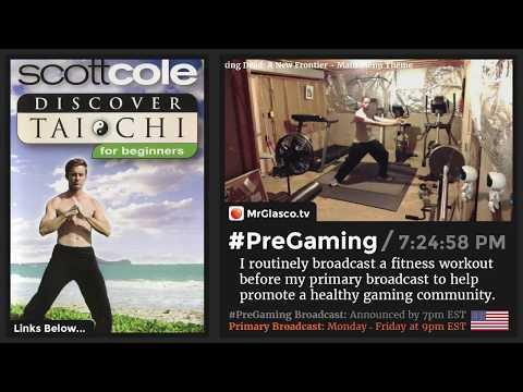 #PreGaming: Scott Cole Discover Tai Chi for Beginners DVD 💪